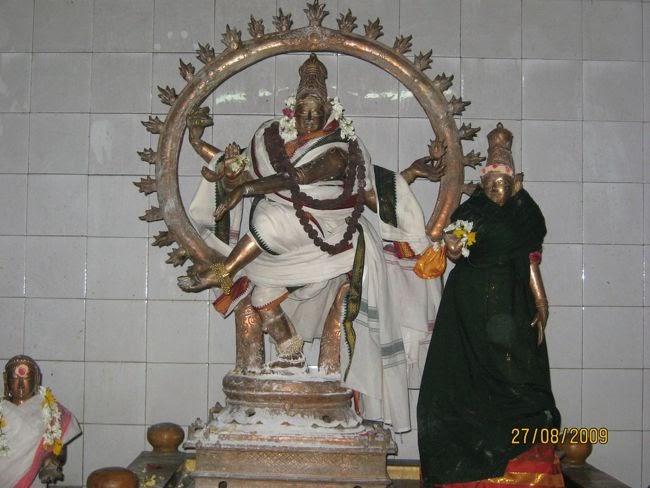 Sarpa Nataraja At Thiruvasi Temple