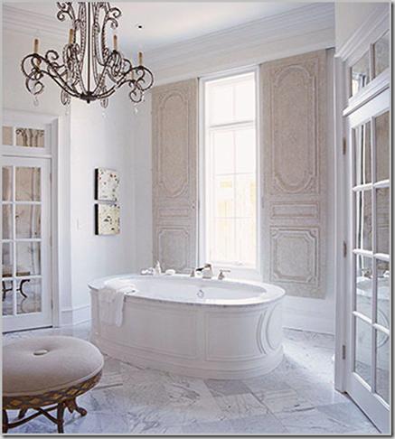 design form function Bathroom  Chandelier