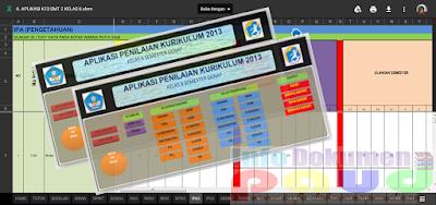Download Aplikasi Raport SD kurikulum 2013 Terbaru 2017