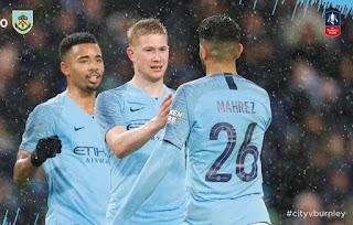 ملخص اهداف مانشستر سيتي - بيرنلي 5-0 كاس الاتحاد الانجليزي 26-01-2019
