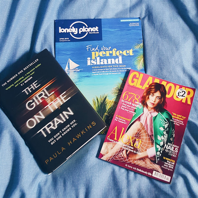 girl on the train, lonely planet, glamour