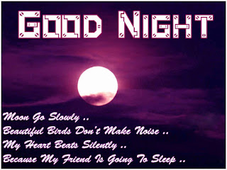 good night friends wallpaper with quotes