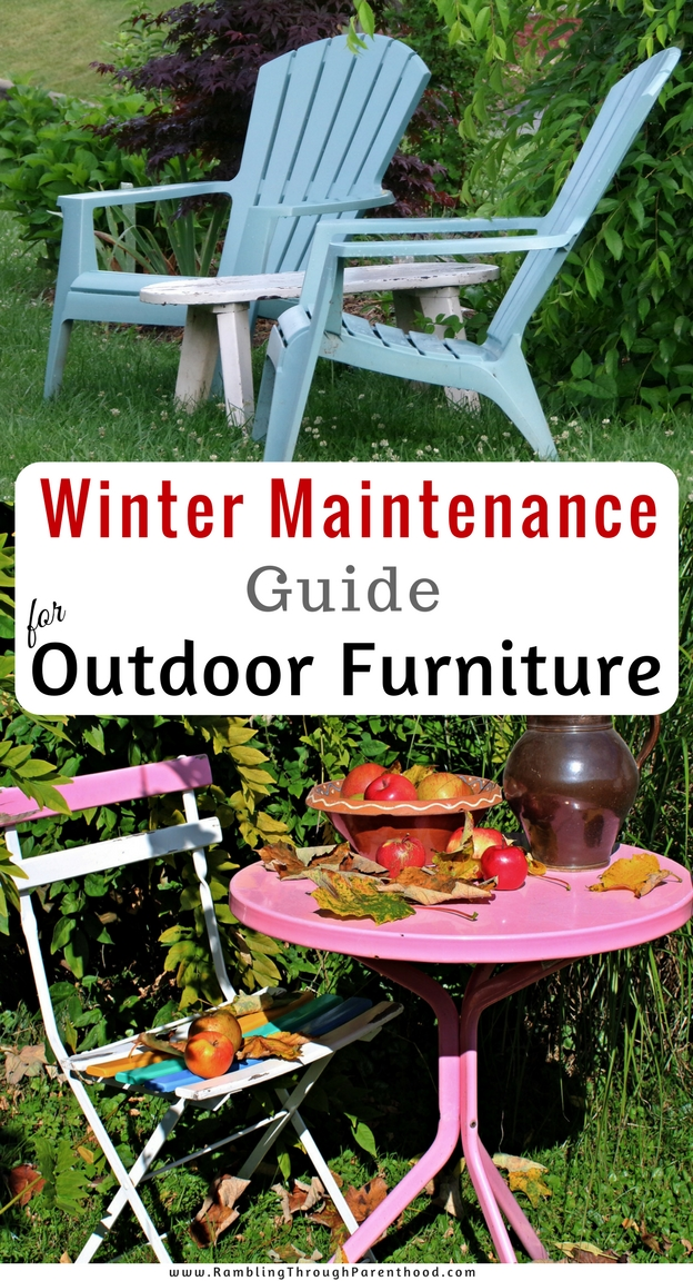 As winter comes around, the harsh weather can be hard on outdoor furniture.  With the right care and maintenance, you can make sure your furniture survives the cold season and is ready to enjoy come summer. Whether your furniture is metal, wood, plastic or rattan, this maintenance guide will help you look after your outdoor furniture.
