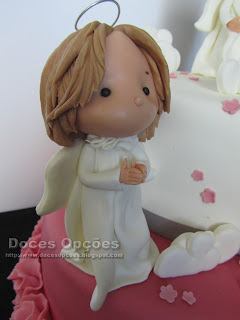 angel cake sugar paste