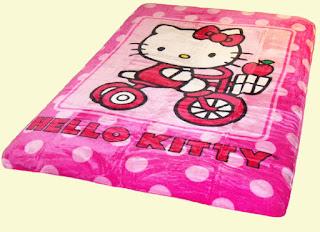 Gambar Selimut Hello Kitty 6