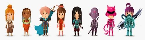 juego voxel RPG