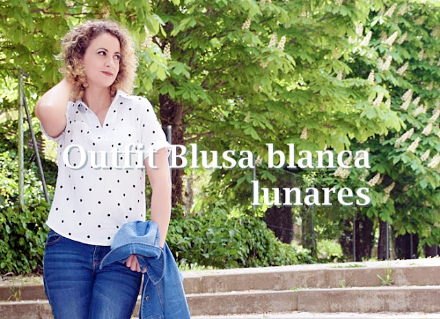 Outfit-Blusa-Blanca-Lunares-1