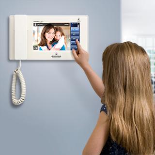 Chuông cửa màn hình được sử dụng phổ biến vì tính bảo mật cao