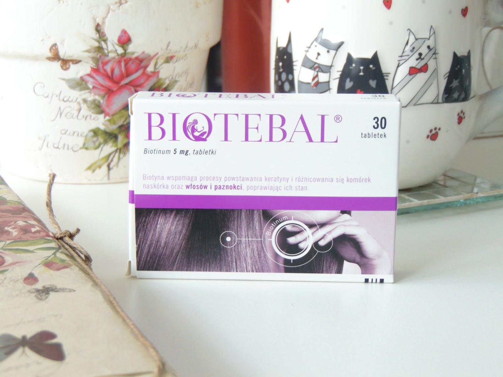 Na wypadanie włosów i nie tylko – Biotebal