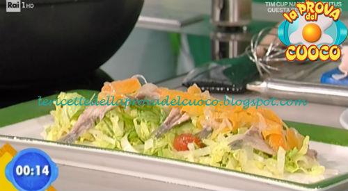Alici in carpione con scarola ricetta Bertol da Prova del Cuoco