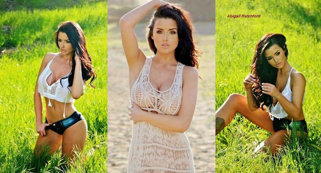 Model Cantik Abigail Ratchford
