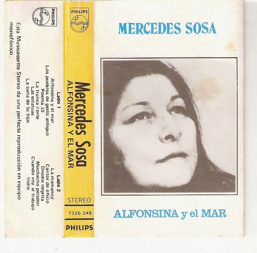 """Canciones Con Historia: """"Alfonsina y El Mar"""". Mercedes Sosa"""