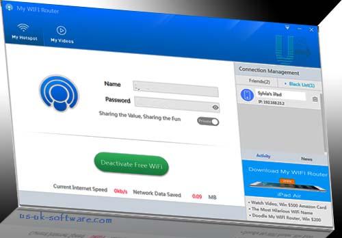 Download My WiFi Router 3.0- Virtual WiFi Hotspot Creator