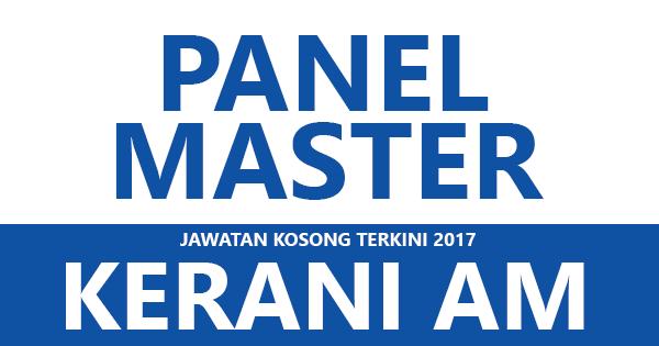 Jawatan Kosong di Panel Master