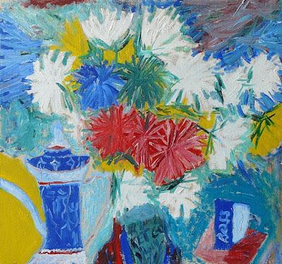 Современное искусство - Современная живопись - Астры
