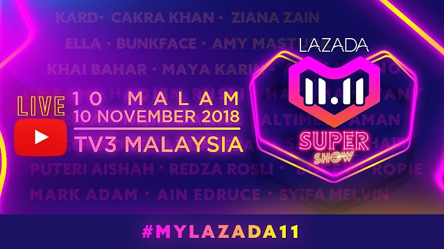 [LIVE] Konsert Lazada 11.11 Super Show  - Persembahan Dari KARD