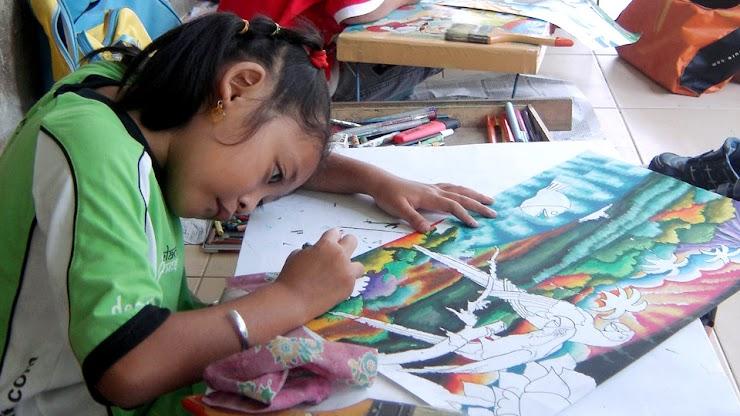 Contoh Lembar Kerja: Tugas Perkembangan Anak TK