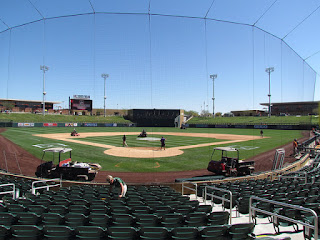 Home to center, Salt River Fields at Talking Stick