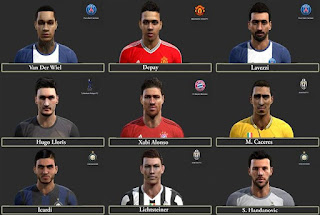 Facepack v2 Pes 2013 by SG8