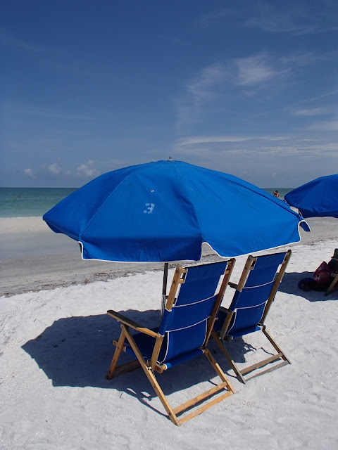 Caladesi Island rental chairs