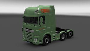 Oegema & Lensen Transport Skin for DAF Euro 6
