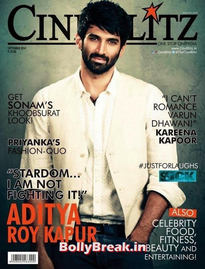 Aditya Roy Kapoor, Bollywood Actors Hot & Sexy Pics on Magazine Covers