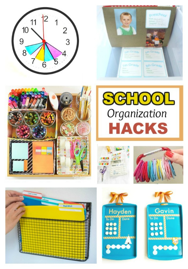 School Organization Tips Back-to-school Hacks | Growing A Jeweled Rose