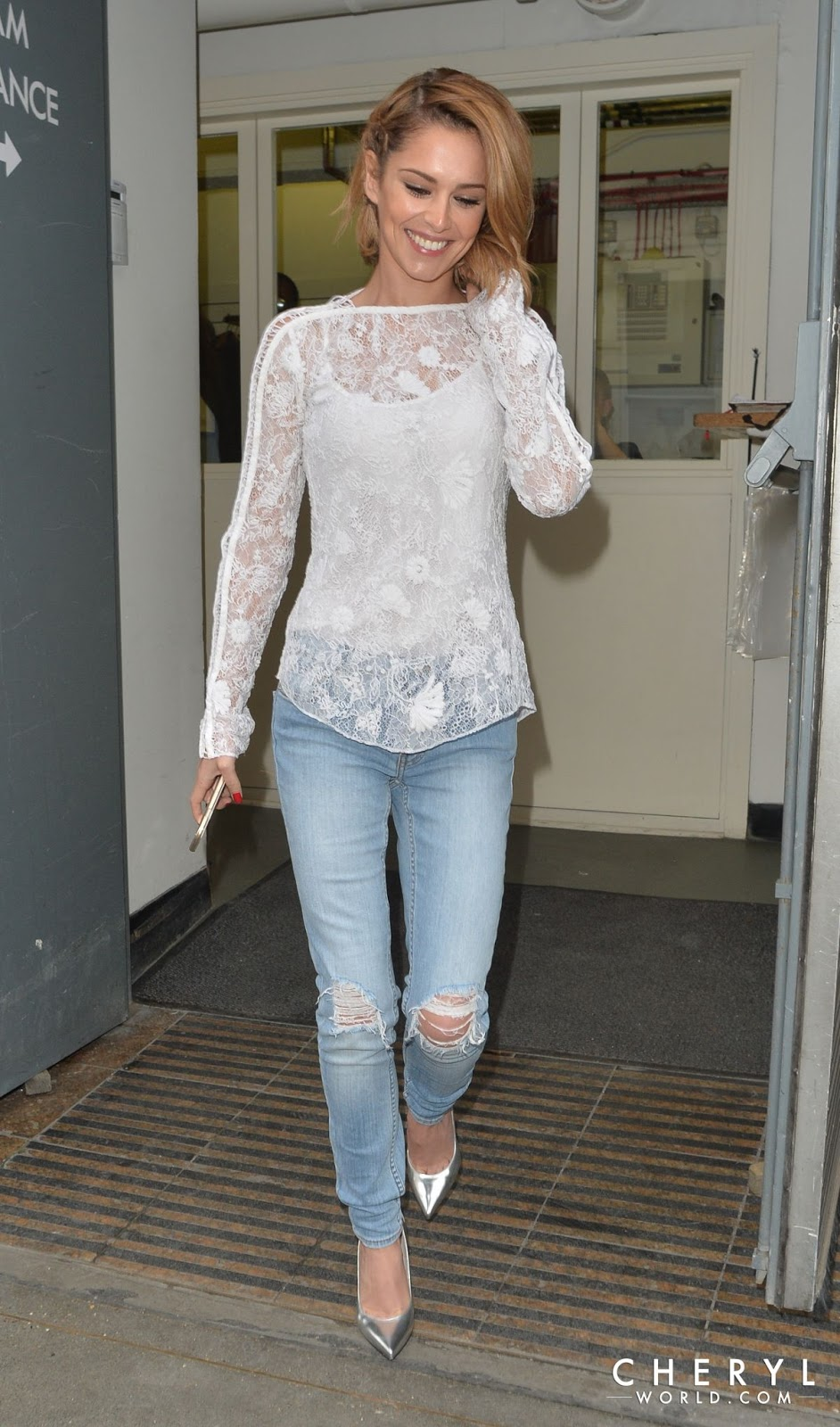 Full HQ Photos of Cheryl Cole Leaves Fenwick Store