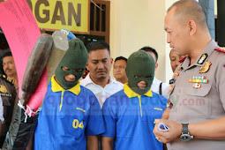 Dua Pencuri Spesialis Rumah Kosong Dibekuk Sat Reskrim Polres Grobogan