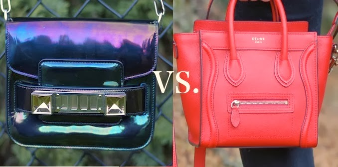 Celine Nano Luggage vs. Proenza Schouler PS11 Tiny: A friendly comparison