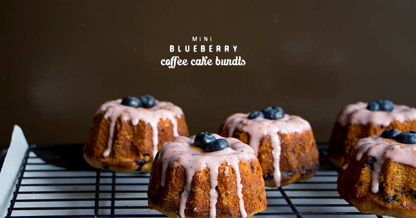 Blueberry Crumb Bundt Cake