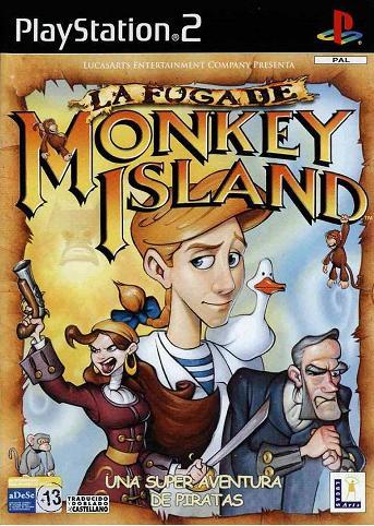 La%2BFuga%2BDe%2BMonkey%2BIsland - La Fuga De Monkey Island | Ps2