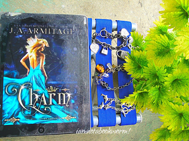 Charm (A Cinderella Reverse Fairytale) (Reverse Fairytales #1) by J. A. Armitage | ARC | A Book Review by iamnotabookworm!