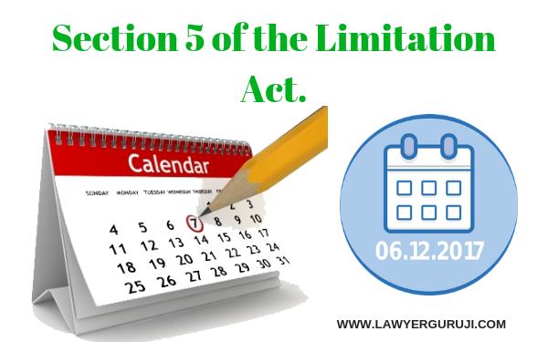 कब न्यायालय विलम्ब से दाखिल किये गए आवेदन या अपील को स्वीकार कर सकती है ?