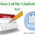 सिविल मामलों कब न्यायालय विलम्ब से दाखिल किये गए आवेदन या अपील को स्वीकार कर सकती है ? Time limit for filing application or appeal in civil court
