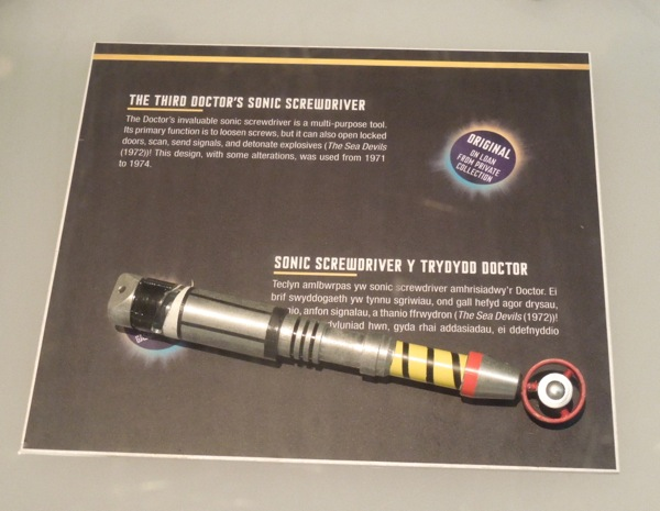 Third Doctor who Sonic Screwdriver