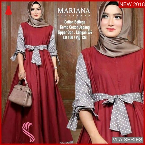 VLA008M86 Model Dress Mariana Mc Murah BMGShop