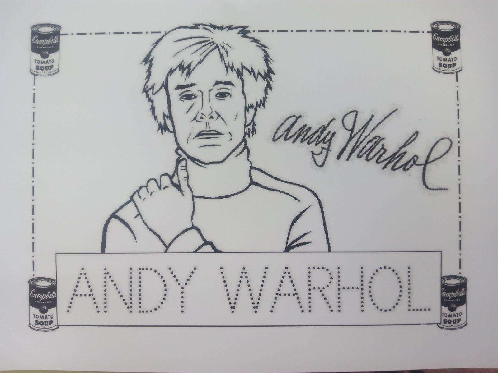 PEQUE BASILIO: TRABAJAMOS EL NOMBRE DE ANDY WARHOL