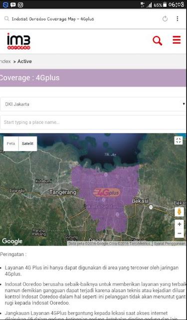 Cara Cek Wilayah Yang Sudah Dijangkau Jaringan 4G Untuk Kartu Indosat Ooredoo