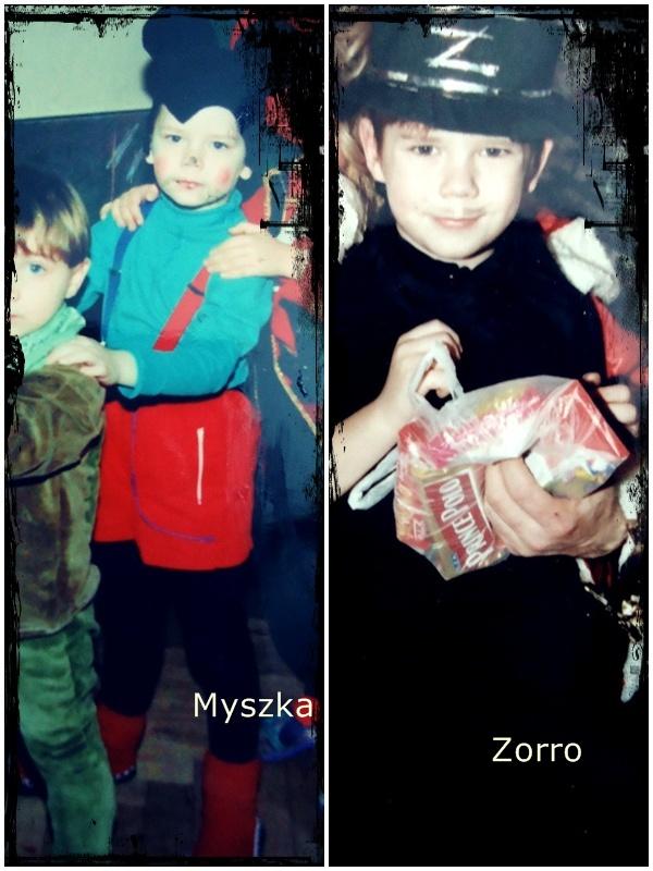 strój karnawałowy, myszka, Zorro i Alladyn
