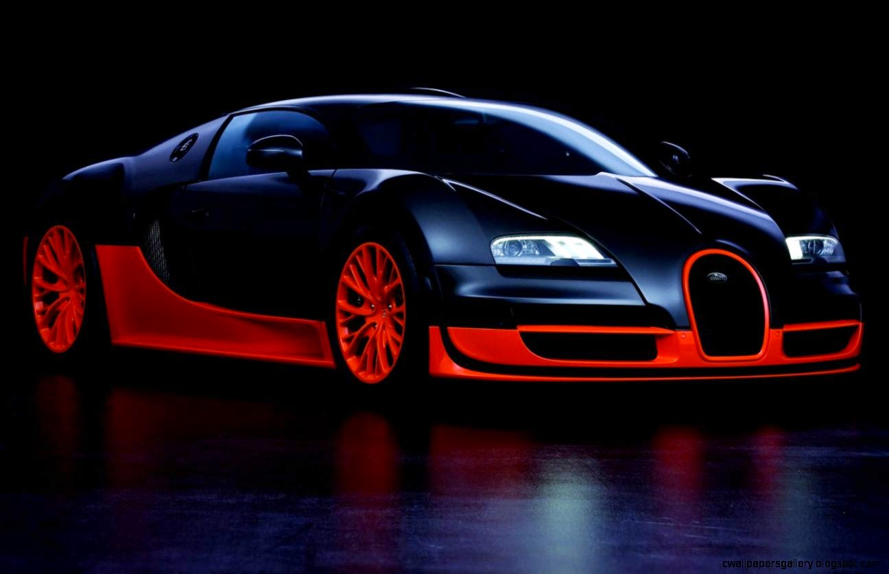 Wallpaper Bugatti Veyron Super Sport: Bugatti Veyron Super Sport Gold Wallpaper