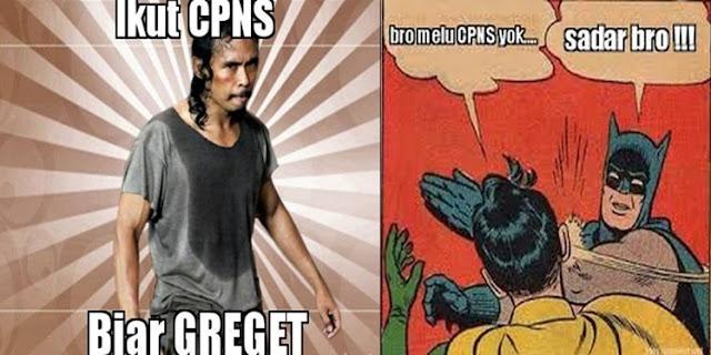 Yuk, Ikut CPNS 2017.. Biar GREGET!!