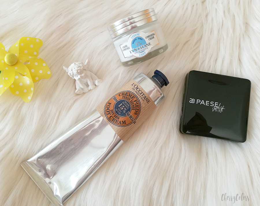L'Occitane and Paese cosmetics