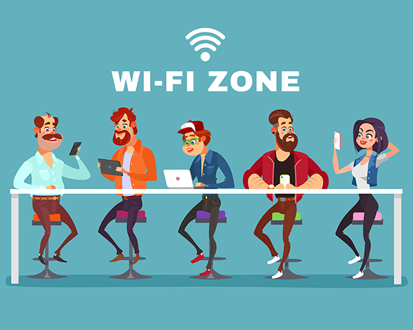 tips internet wifi area