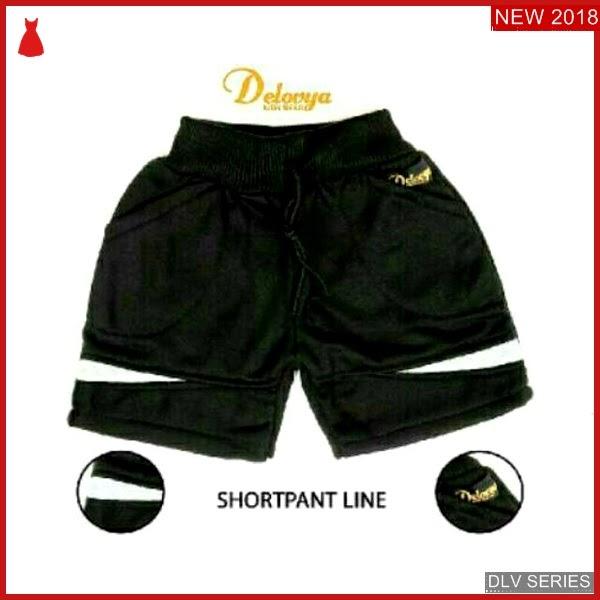 DLV33S26 Short Pant Anak Line Celana Pendek Balita Murah BMG