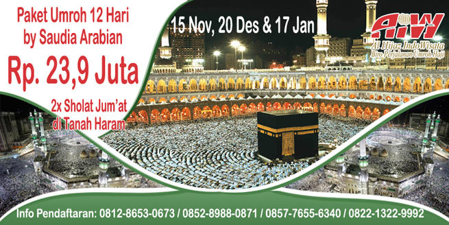 Alhijaz Indowisata Travel Umroh by Pesawat Saudia