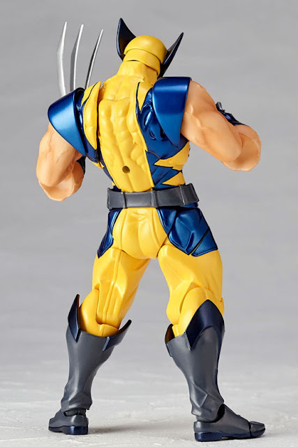 osw.zone Wolverine (born James Howlett, commonly known as Logan and sometimes as a weapon X) is a mutant that is animal.  Kaiyodo Revoltech Wolverine 6-inch big action figure with X-Men style yellow and blue costume