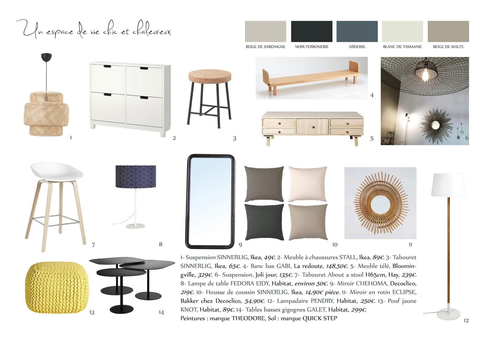 adc l 39 atelier d 39 c t am nagement int rieur design d 39 espace et d coration un projet. Black Bedroom Furniture Sets. Home Design Ideas