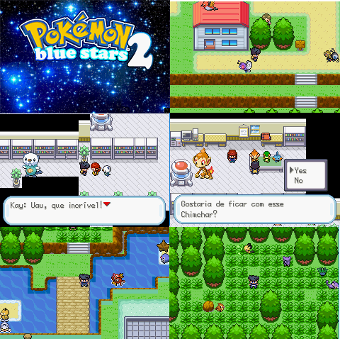 Pokémon Blue Stars 2