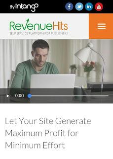 Cara Mendaftar Dan Memasang Iklan di RevenueHits Terbaru 2018